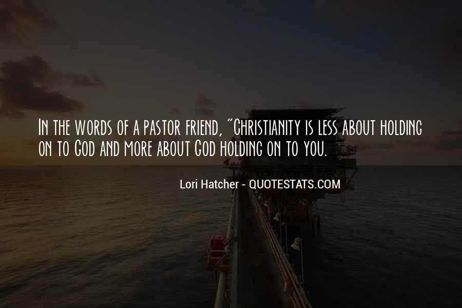 Pastor Quotes #224914
