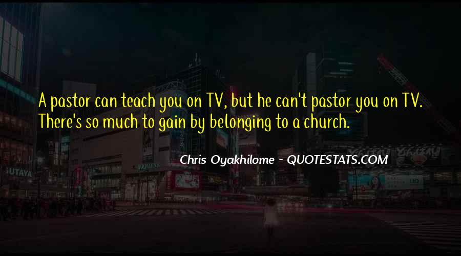 Pastor Quotes #225857