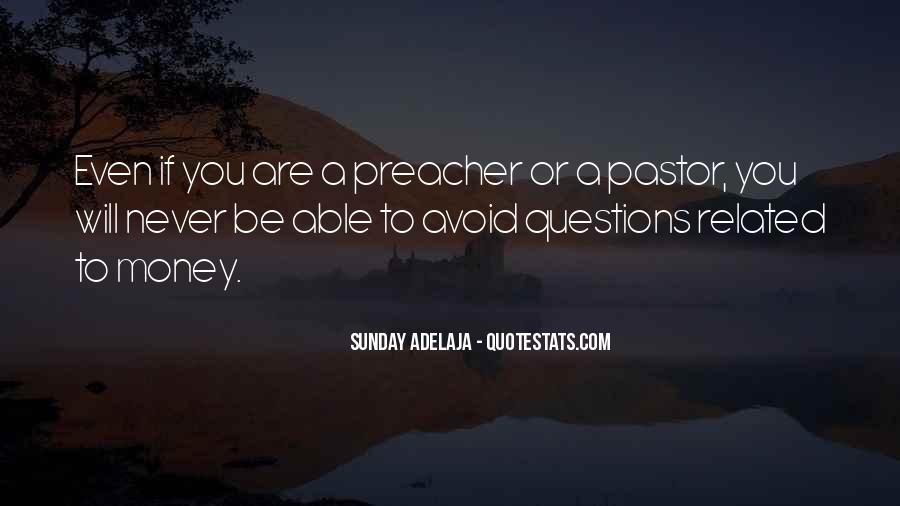 Pastor Quotes #25944