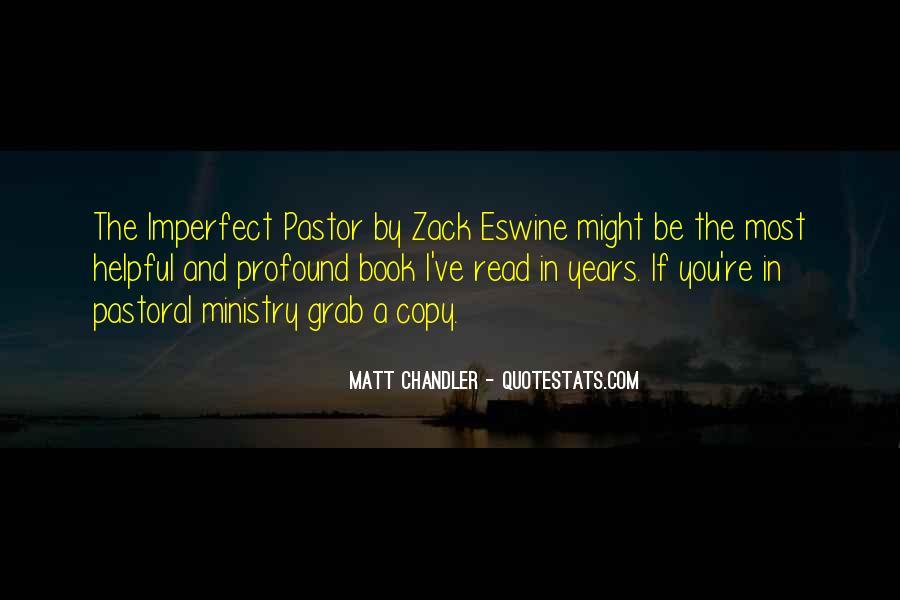 Pastor Quotes #324117