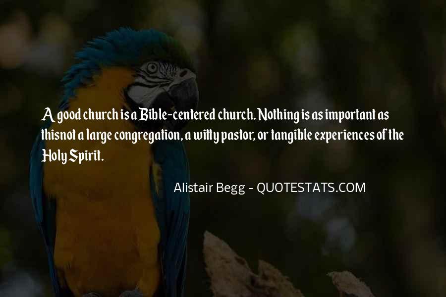 Pastor Quotes #331784