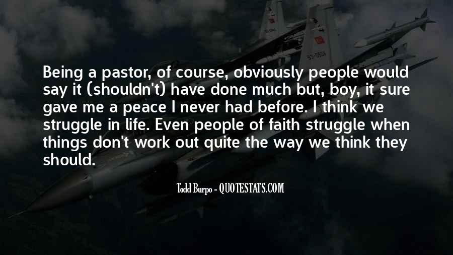 Pastor Quotes #33266