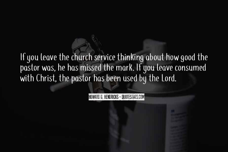 Pastor Quotes #34336
