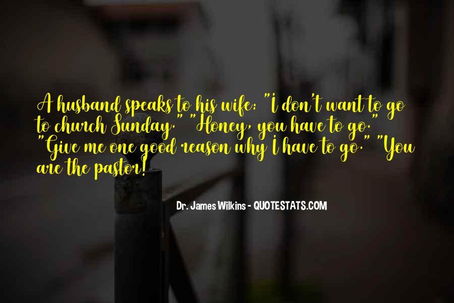 Pastor Quotes #346729