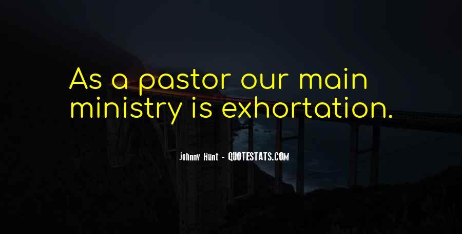 Pastor Quotes #399027
