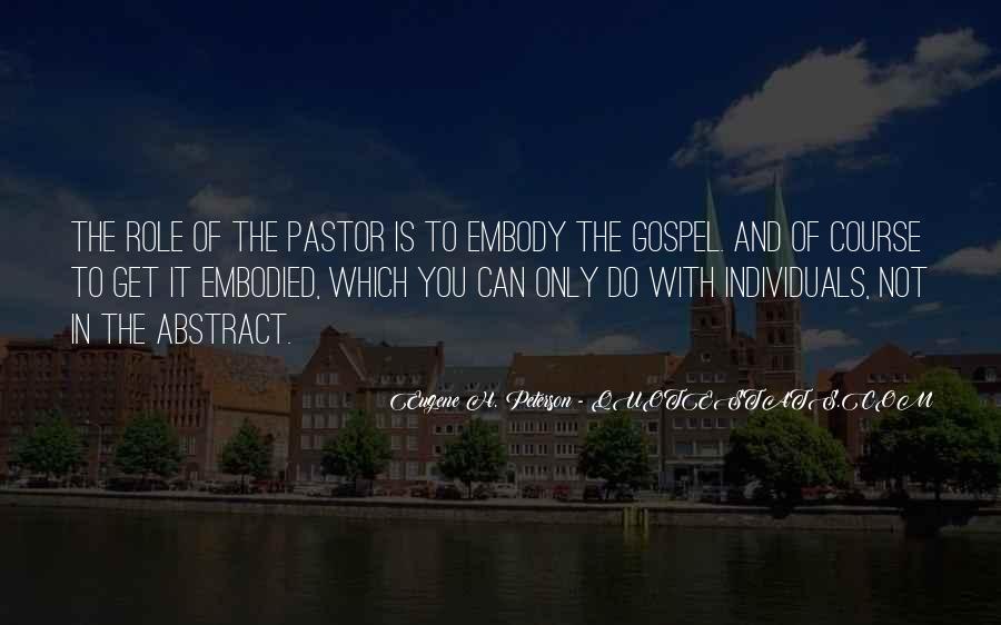 Pastor Quotes #440416
