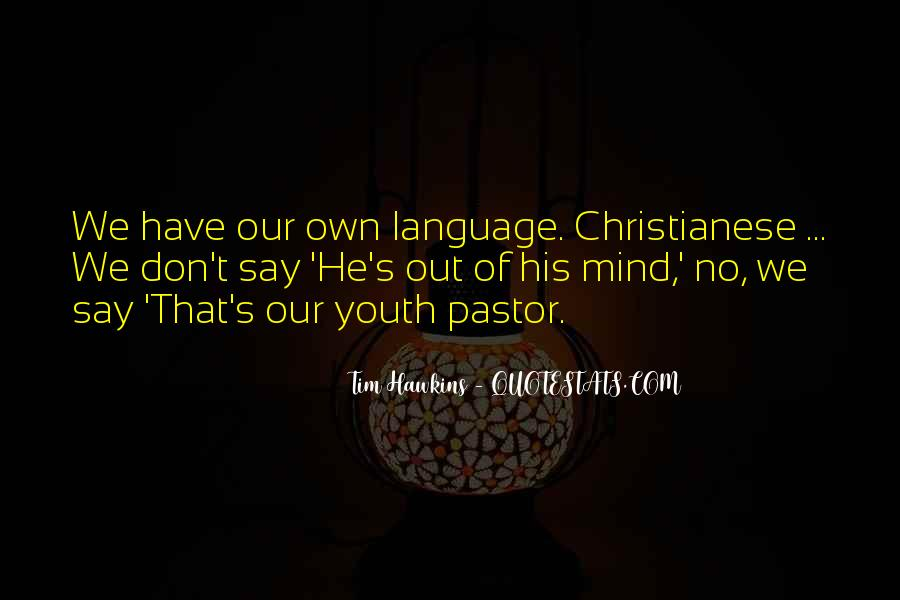 Pastor Quotes #86101