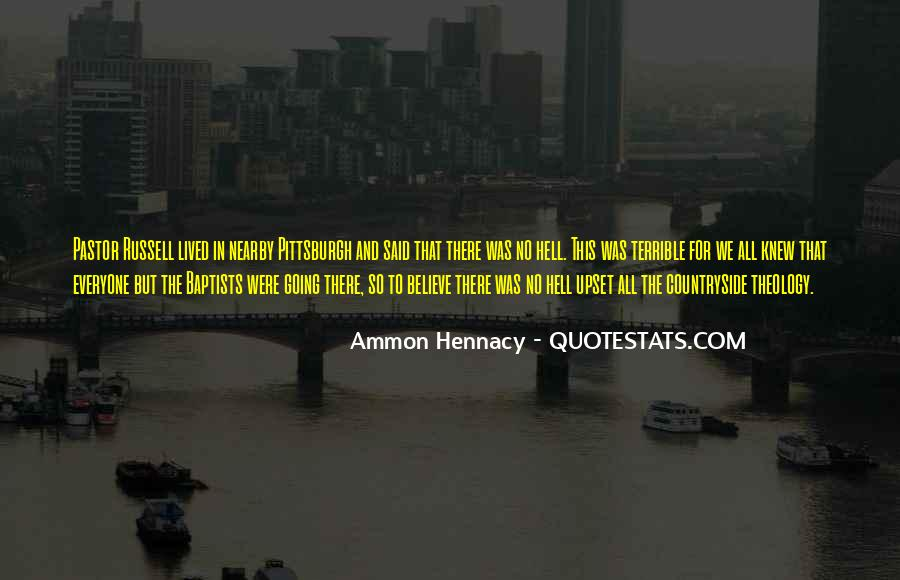 Pastor Quotes #91941