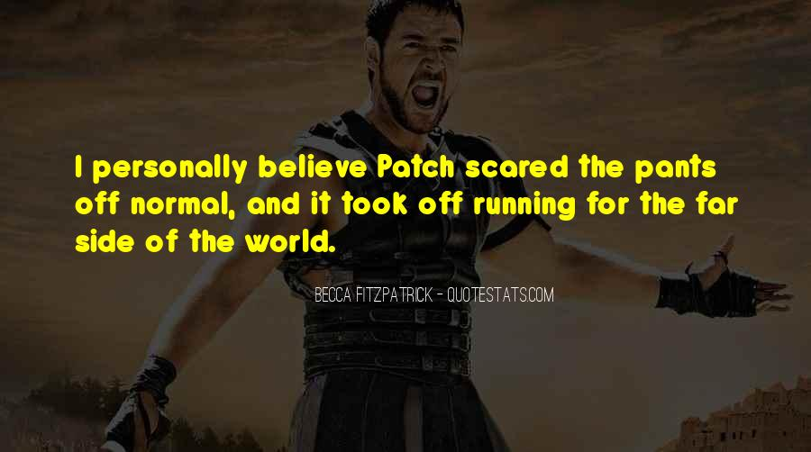 Patch And Nora Quotes #1621671