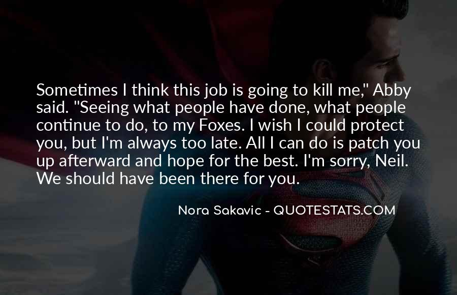 Patch And Nora Quotes #1842260