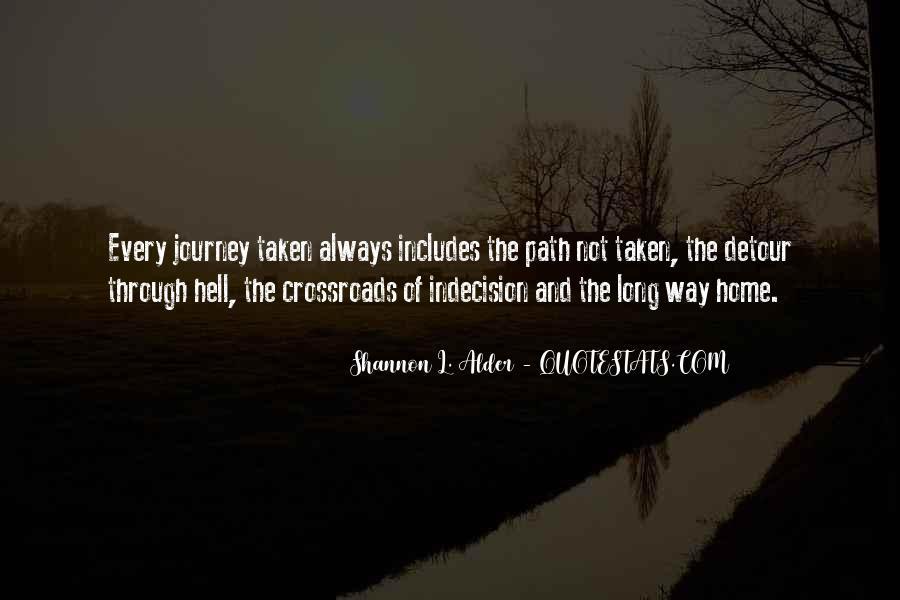 Path Less Taken Quotes #880795