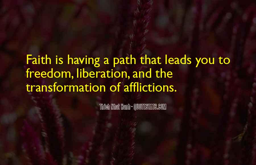 Path To Freedom Quotes #1241902