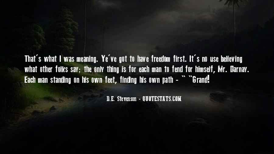 Path To Freedom Quotes #1757187