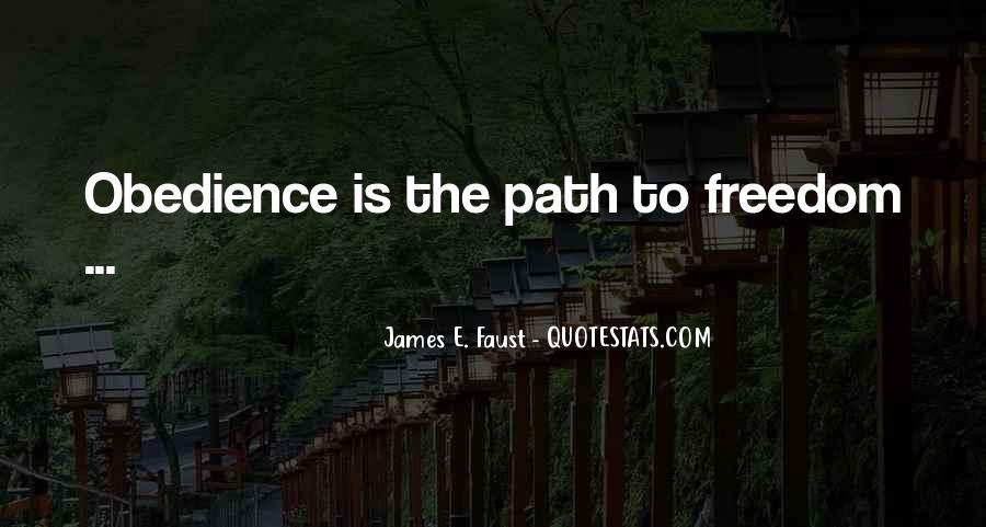 Path To Freedom Quotes #765433