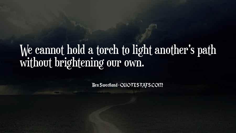 Path To Light Quotes #1100025