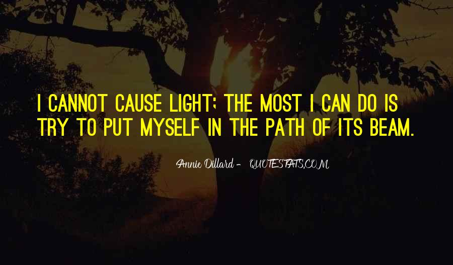 Path To Light Quotes #1193034