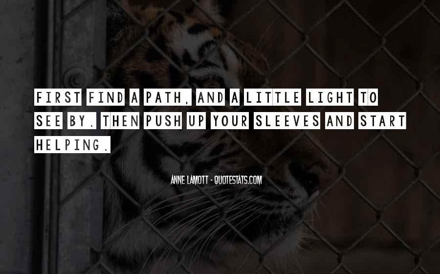 Path To Light Quotes #1572795