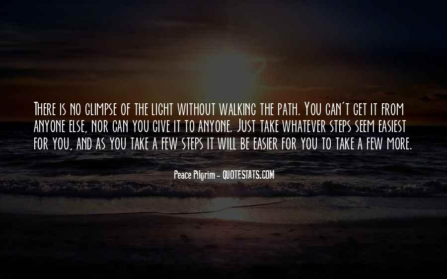Path To Light Quotes #1809073
