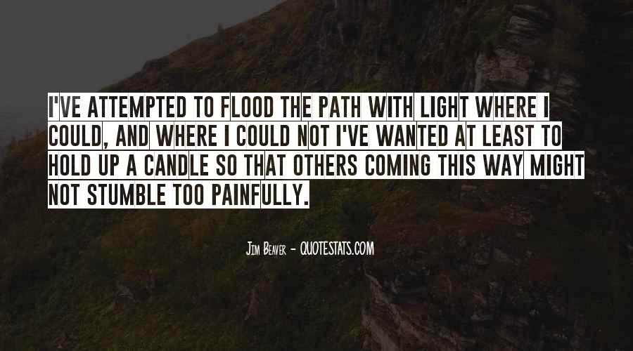 Path To Light Quotes #250173