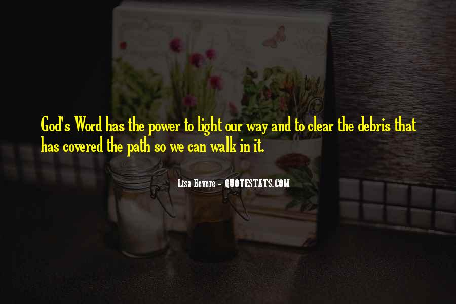 Path To Light Quotes #312346
