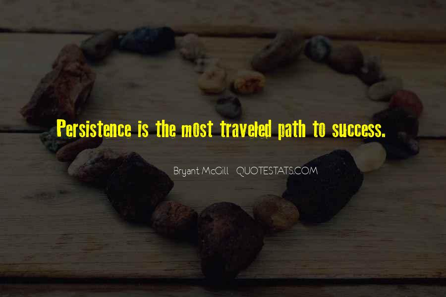 Path Traveled Quotes #114901