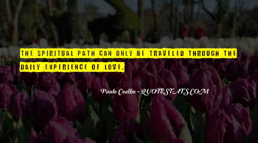 Path Traveled Quotes #945077