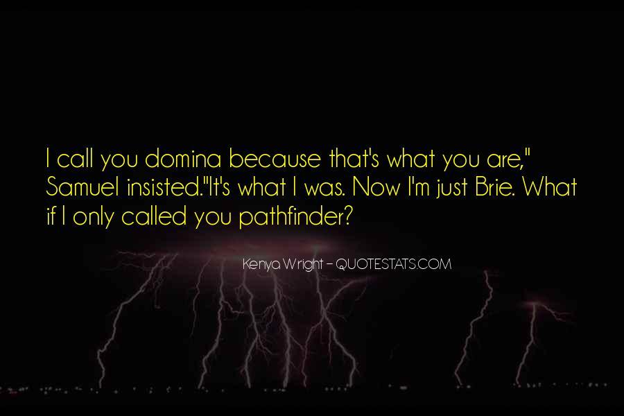 Pathfinder Quotes #9246
