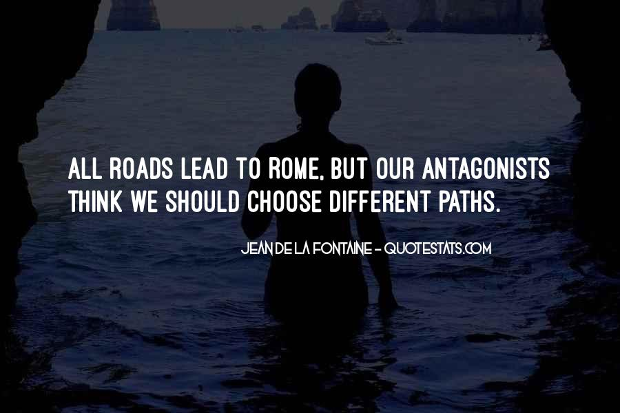 Paths Roads Quotes #1242644