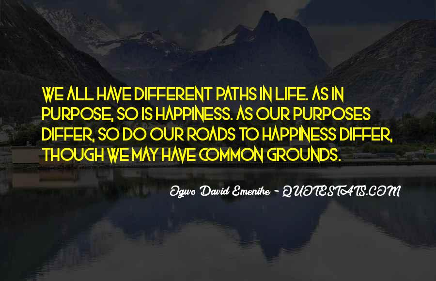Paths Roads Quotes #1497355