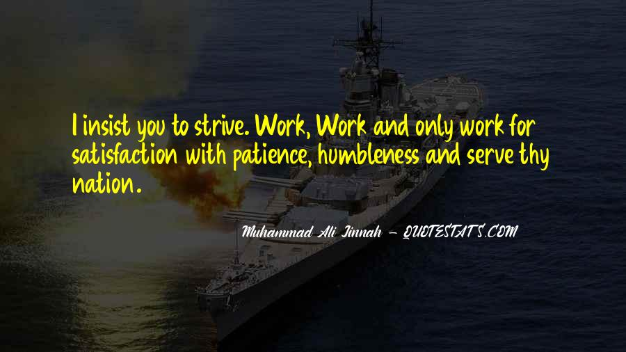 Patience Work Quotes #1026470