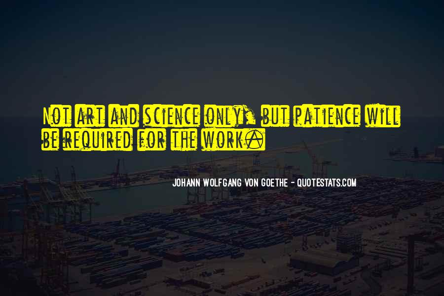 Patience Work Quotes #1273076