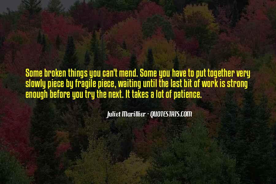 Patience Work Quotes #836814