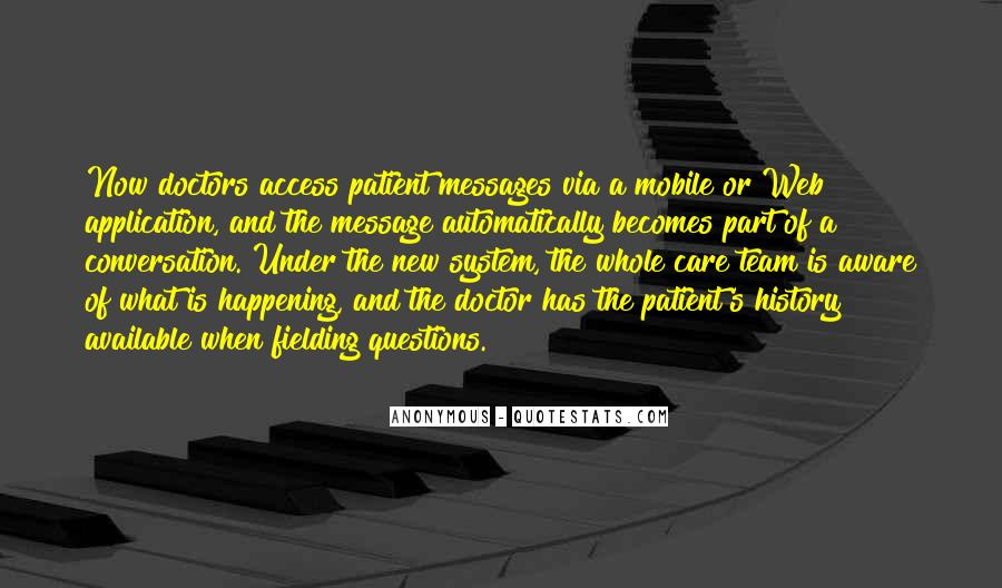 Patient Access Quotes #126678