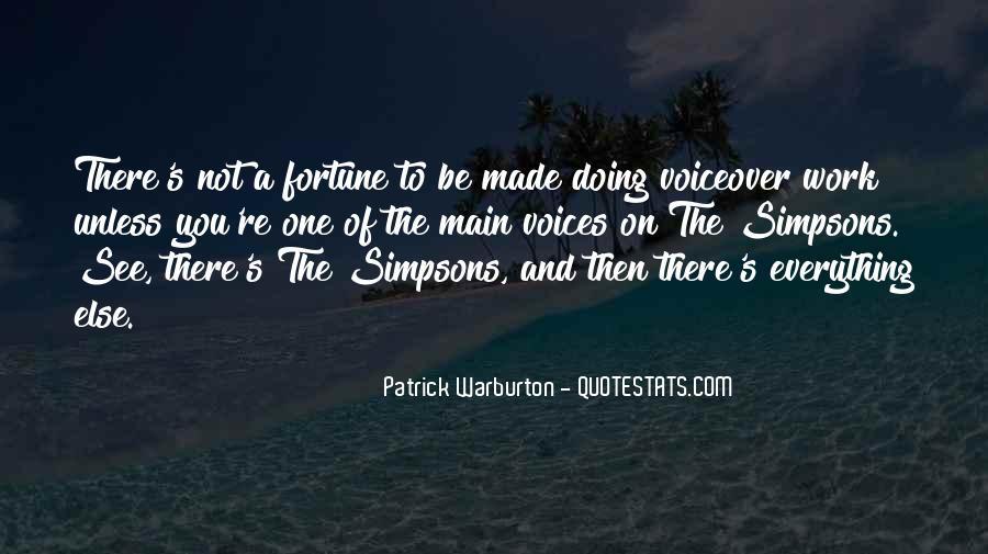 Patrick Warburton Best Quotes #1502620