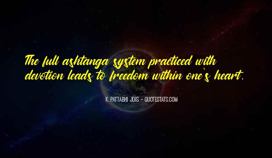 Pattabhi Jois Quotes #187620
