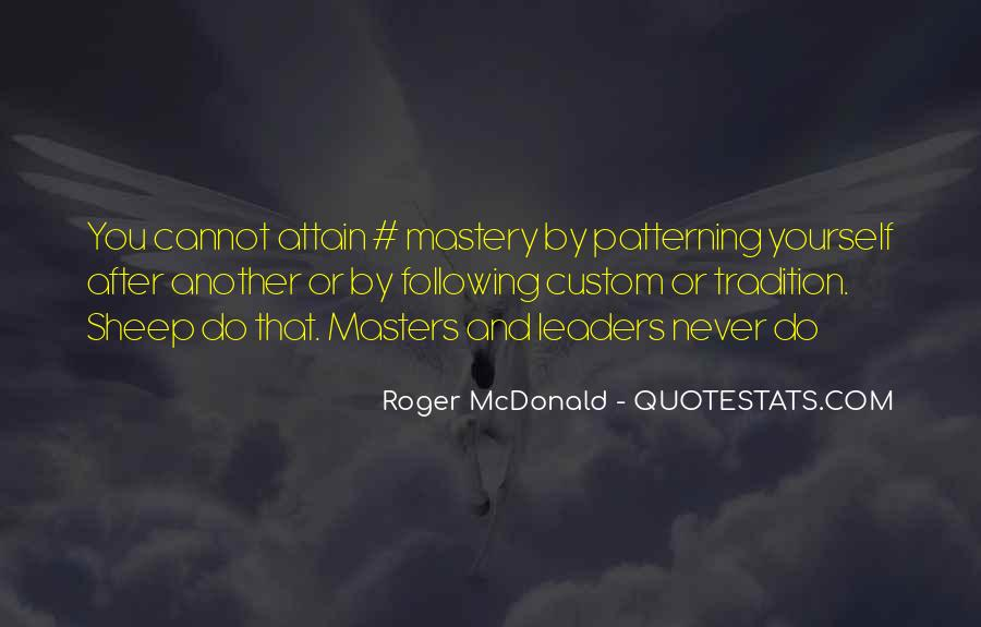 Patterning Quotes #1667837