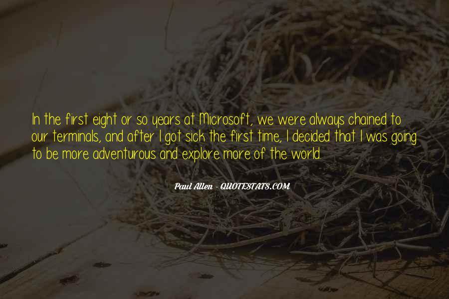 Paul Allen Microsoft Quotes #1152782