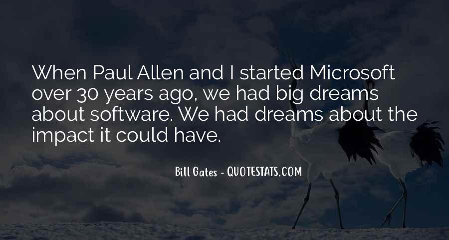 Paul Allen Microsoft Quotes #1241587