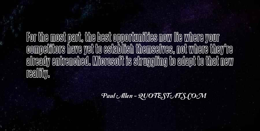 Paul Allen Microsoft Quotes #1844085
