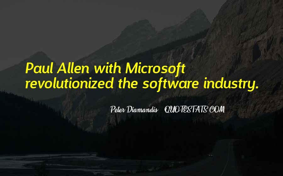 Paul Allen Microsoft Quotes #536140