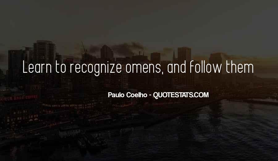 Paulo Coelho The Alchemist Quotes #1369856