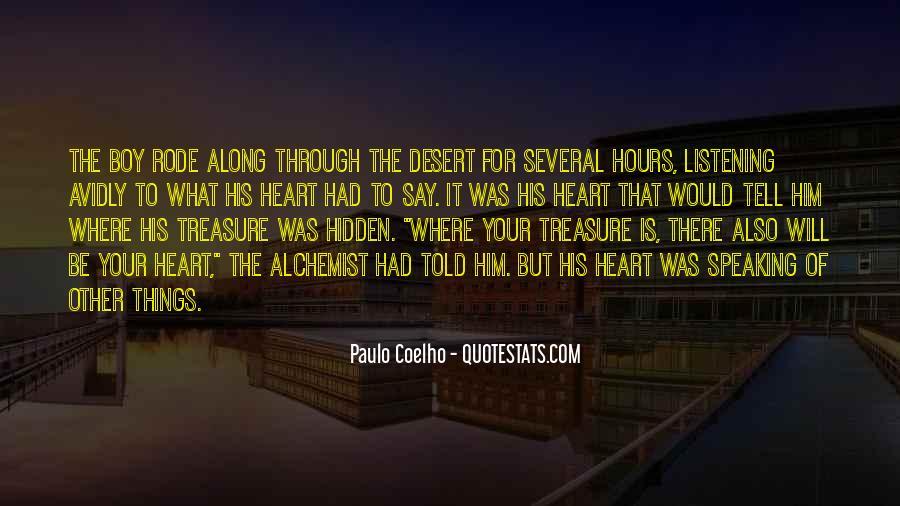 Paulo Coelho The Alchemist Quotes #164561