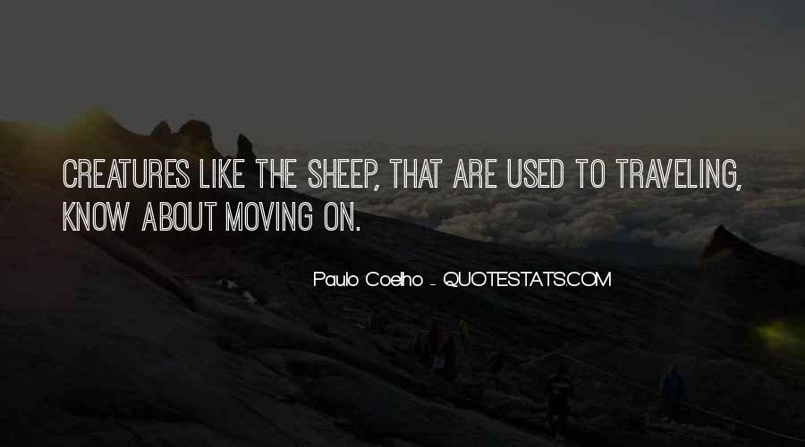 Paulo Coelho The Alchemist Quotes #1819410