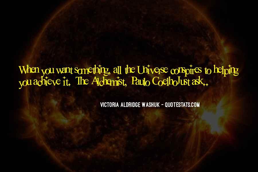 Paulo Coelho The Alchemist Quotes #191821