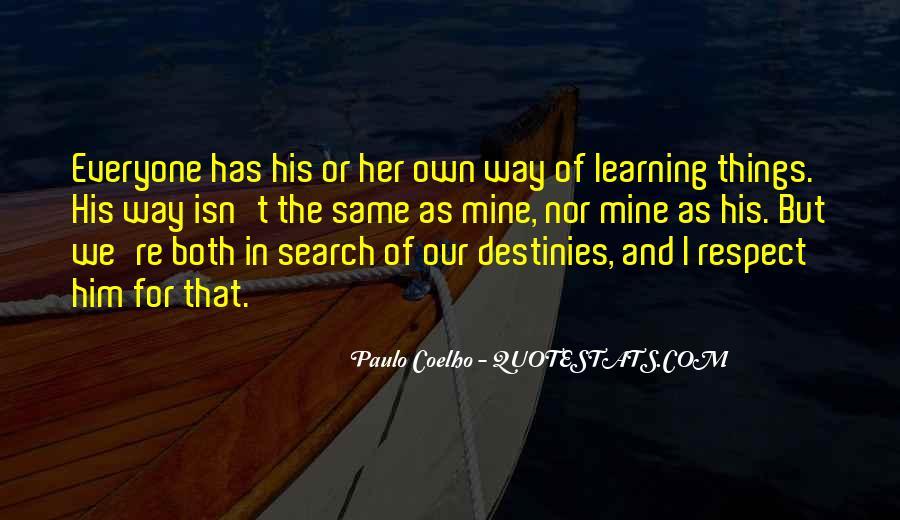 Paulo Coelho The Alchemist Quotes #30073
