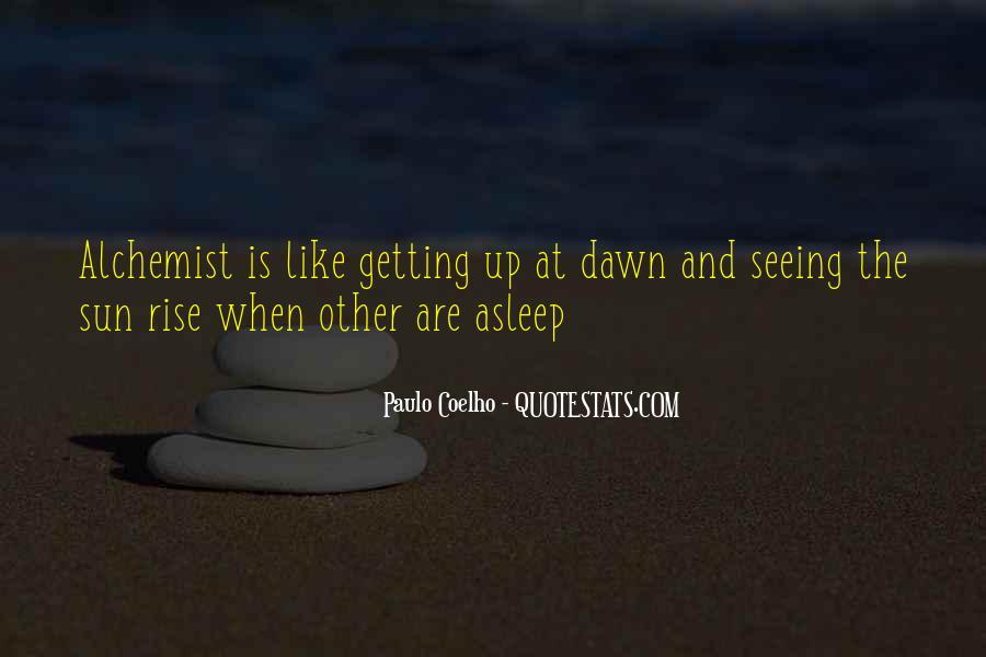 Paulo Coelho The Alchemist Quotes #615053