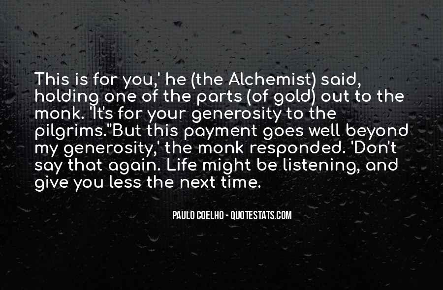 Paulo Coelho The Alchemist Quotes #815968