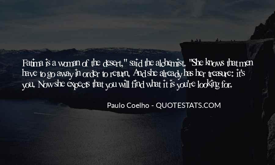 Paulo Coelho The Alchemist Quotes #903142
