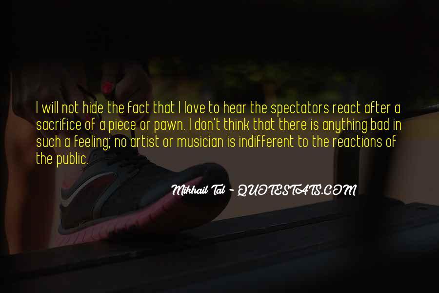 Pawn Sacrifice Quotes #27208