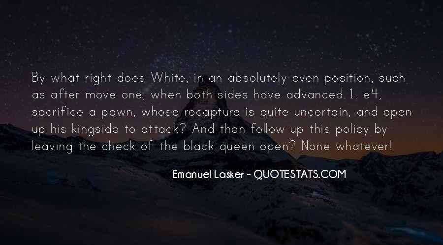 Pawn Sacrifice Quotes #814145